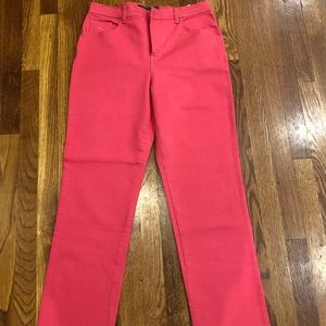 Pink Gloria Vanderbilt Jeans.